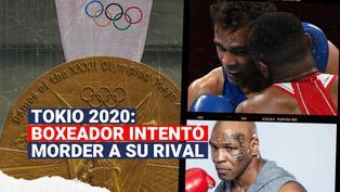 Boxeador es descalificado de los Juegos Olímpícos por intentar morder la oreja de su rival