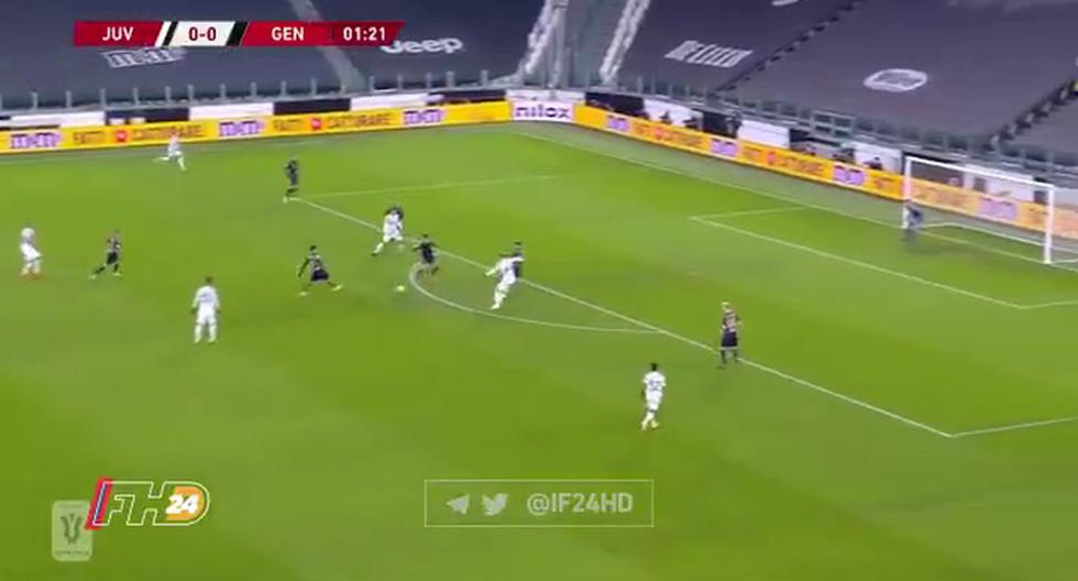 Juventus vs Genoa EN VIVO: ver GOL de Dejan Kulusevski para el 1-0 de los bianconeros por Copa Italia | VIDEO | FUTBOL-INTERNACIONAL | DEPOR