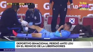 Copa Libertadores: Jean Deza abandonó el campo entre lágrimas