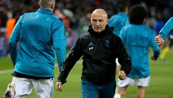 Antonio Pintus trabajó en el Inter de Milán antes de llegar a Real Madrid. (Getty)