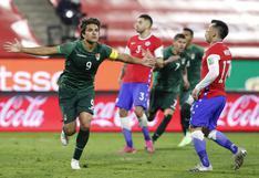 Bolivia empató sobre el final a Chile y sigue en la lucha por llegar a Qatar 2022
