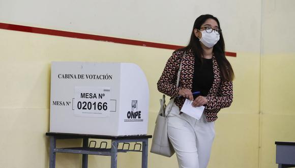 La jornada electoral del 11 de abril se realizará bajo estrictos protocolos para evitar la propagación del COVID-19. (Foto: Andina)