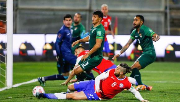 Chile empató 1-1 con Bolivia en la Jornada 8 de las Eliminatorias Qatar 2022. (Foto:  Twitter)