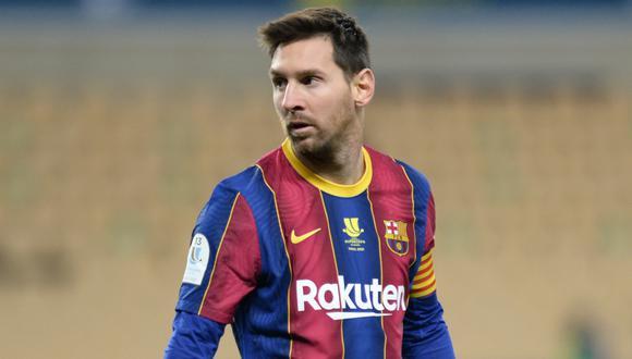 Messi fue respaldado por candidato a la presidencia de Barcelona (Foto: AFP)