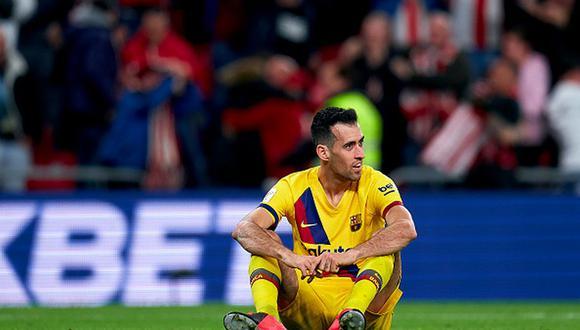Williams apareció a los 92' con golpe de cabeza para darle el triunfo al Athletic frente al Barcelona. (Getty Images)