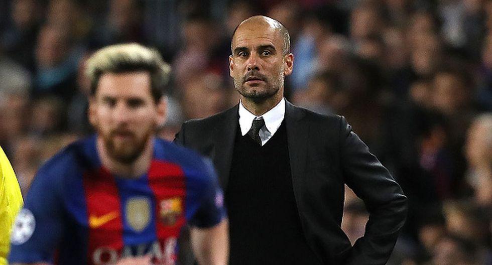 Pep Guardiola dejó el Barcelona en el 2013 para firmar por el Bayern Munich. (Getty)