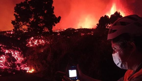 Se tema la posibilidad de un incendio forestal. (Foto: EFE)