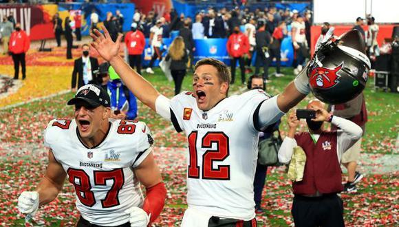 """Rob Gronkowski, eterno compañero de Tom Brady: """"Decidí volver solo para ser de nuevo campeón del Super Bowl"""". (NFL)"""
