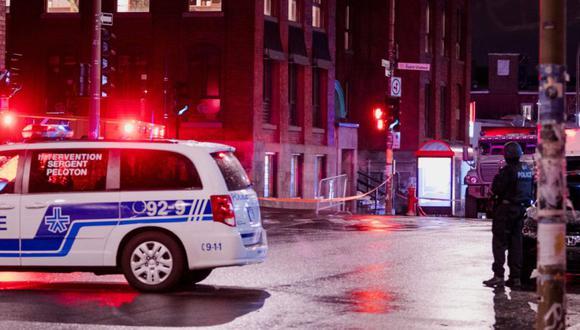 Ubisoft Montreal: no se reportan incidentes luego de la operación policial.  / AFP / Andrej Ivanov