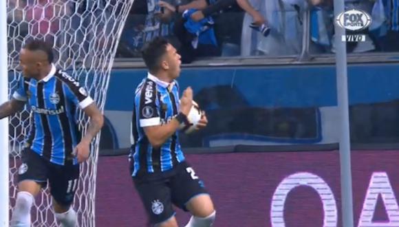Pepe puso el empate entre Gremio y Flamengo por 'semis' de Copa Libertadores. (Captura/FOX)