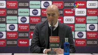 Zinedine Zidane se mostró satisfecho por el triunfo de su equipo ante el Celta de Vigo