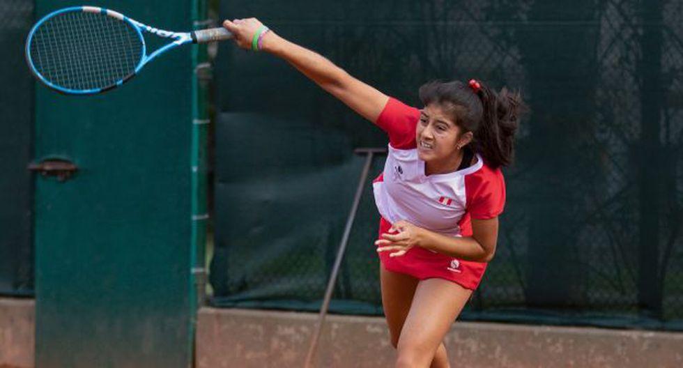 Dana Guzmán fue la tenista más destacadas del Mundial Juvenil de Tenis de Barranquilla. (Foto: IPD)