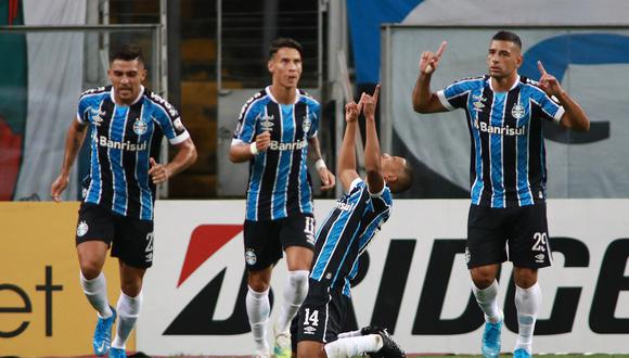 Gremio ganó por goleada a Ayacucho FC en el Arena do Gremio por Copa Libertadores 2021. (Foto: @Libertadores)