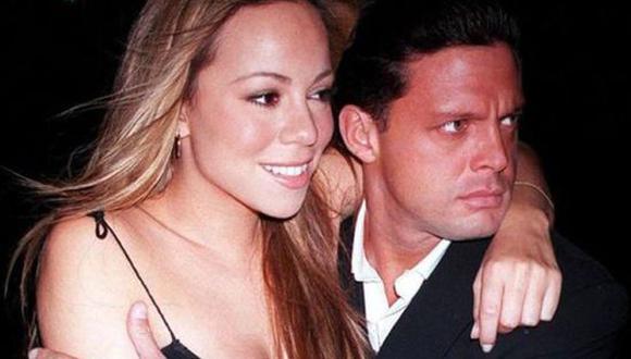 Luis Miguel y Mariah Carey tuvieron una relación amorosa de 3 años. (Foto: Twitter)