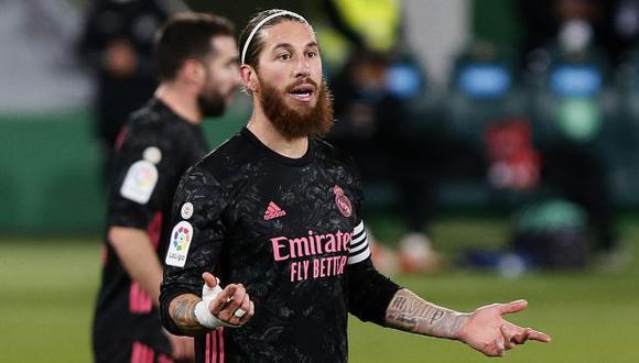 Sergio Ramos llegaría al PSG por una temporada con opción de renovar. (Foto: AFP)