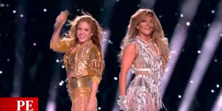 Shakira y JLo se lucieron en el Super Bowl