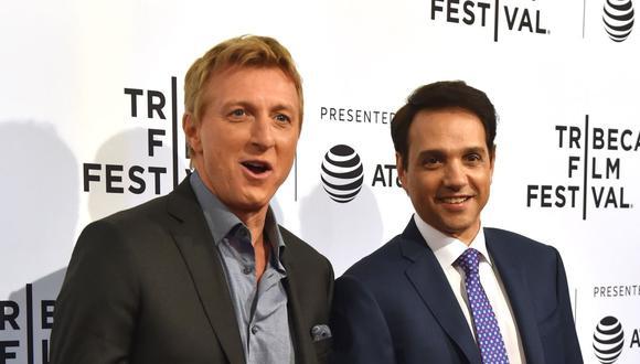 """Ralph Macchio interpreta a Daniel LaRusso desde muy joven y ahora habla de esta nueva temporada de """"Cobra Kai"""". (Foto: Hector Retamal / AFP)"""