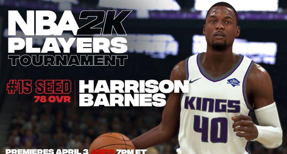 Harrison Barnes. (Foto: Twitter @NBA2K)
