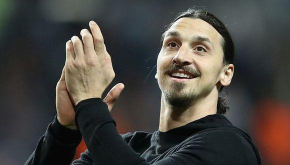 Zlatan Ibrahimovic llegó al Manchester United procedente del PSG. (Getty Images)