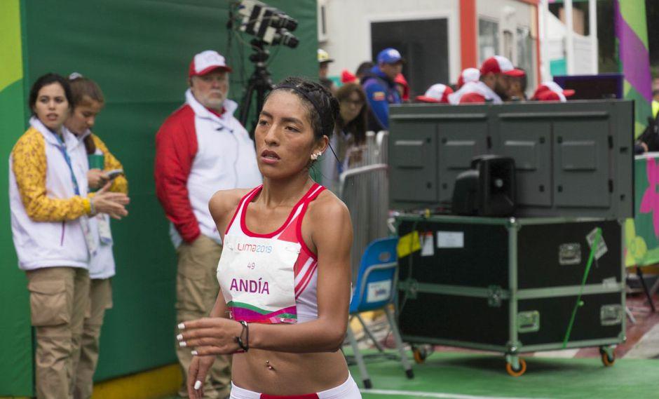 Mary Luz Andía se encuentra en el puesto 54 del ranking mundial de marcha atlética de 20 km. (Foto: IPD)