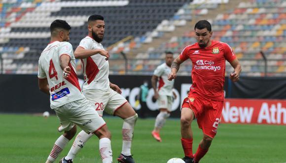 Sport Huancayo y UTC igualaron 0-0 en el estadio Monumental (Foto: Liga 1)