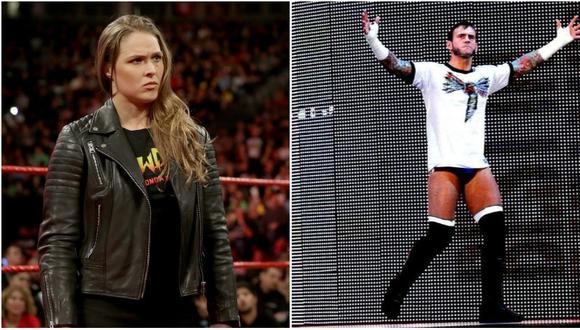 Ronda Rousey apareció en WWE en Royal Rumble 2018. (WWE)