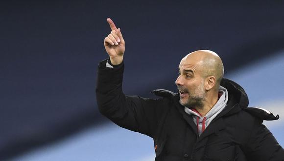 Pep Guardiola descarta que Manchester City realizará una gran inversión por fichar a un delantero. (Foto: AP)
