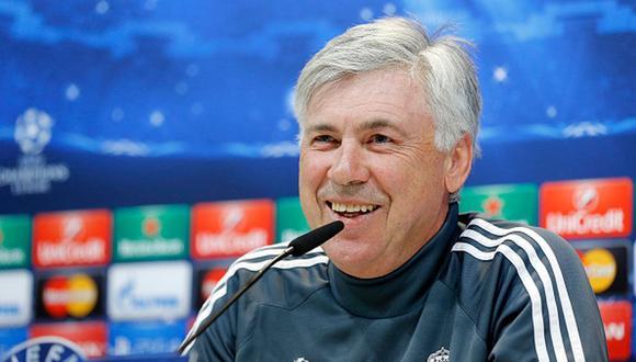 Real Madrid ganó la Champions League del 2014 con Ancelotti como entrenador. (Getty)