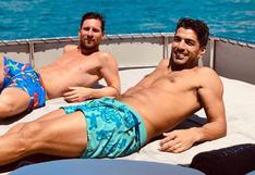 El Barça tendrá que esperar: Messi se marchó con Suárez de vacaciones a Ibiza