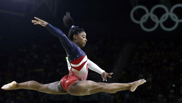 Simone Biles y una increíble historia de superación para convertirse en la mejor gimnasta de todos los tiempos. (Foto: AFP)