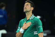 Para la historia: Djokovic superó la marca de Federer y ya lleva 311 semanas como número uno de la ATP