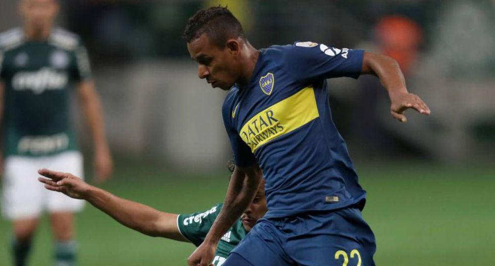 Sebastián Villa llegó a Boca en el 2018 procedente del Tolima. (Foto: AFP)