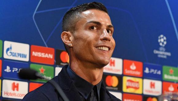 Cristiano Ronaldo será titular ante el United por Champions League. (Foto: AFP)