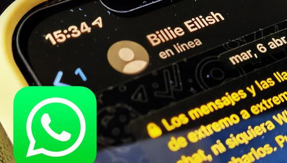 """Conoce el increíble truco para poder volver a ver si un amigo que te ha bloqueado en WhatsApp está """"en línea"""". (Foto: Depor)"""