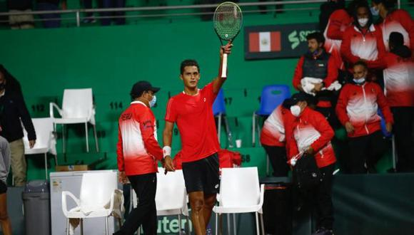 Perú empató 1-1 con Bosnia y Herzegovina en el primer día de la serie por el Grupo Mundial I de la Copa Davis  (Foto: GEC / Fernando Sangama)