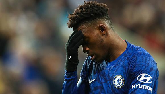 Callum Hudson-Odoi juega como volante en el Chelsea de la Premier League inglesa. (Foto: Getty Images)