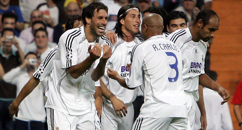 Van Nistelrooy jugó en el Real Madrid entre el 2006 y 2010. (Foto: AFP)