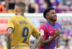 """""""Estás loco"""": la emoción de la familia de Ansu tras su vuelta con gol en el Barça"""