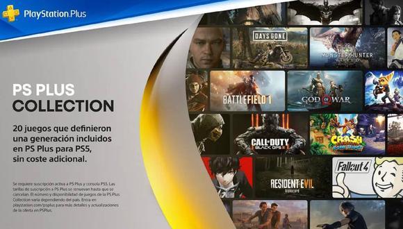 PS5: Sony todavía no define el futuro de PlayStation Plus Collection. (Foto: Sony)