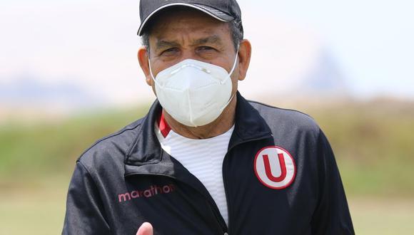 Chumpitaz llegó a los entrenamientos de Universitario. (Foto: Prensa 'U')