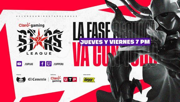 Claro Gaming Stars League: partidos de la jornada 7 de la liga peruana. (Difusión)