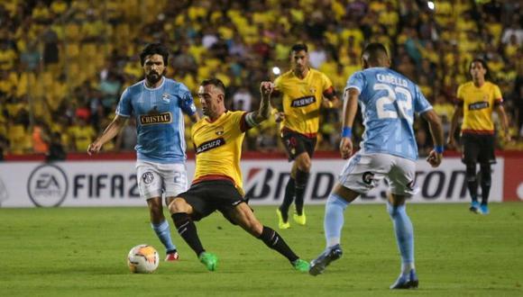 Sporting Cristal cayó goleado en su visita a Barcelona de Guayaquil (Foto: Barcelona)