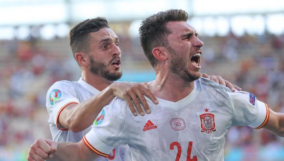 Laporte contestó a las críticas de Van der Vaart sobre España. (Foto: AFP)