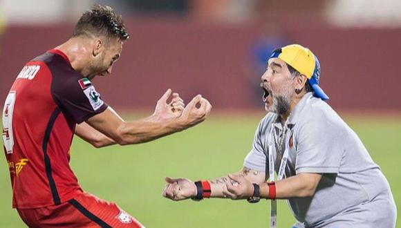 """Danilo Carando recuerda su experiencia con 'El Diego': """"Lo que te genera Maradona, no te lo genera ni Messi"""""""