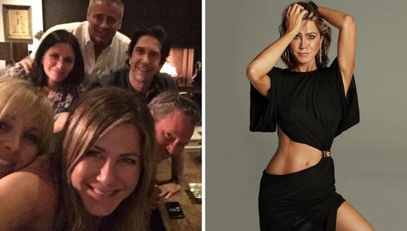"Jennifer Aniston contó que la idea del capítulo especial de ""Friends"" para HBO Max era tener público. (Instagram: @jenniferaniston)."