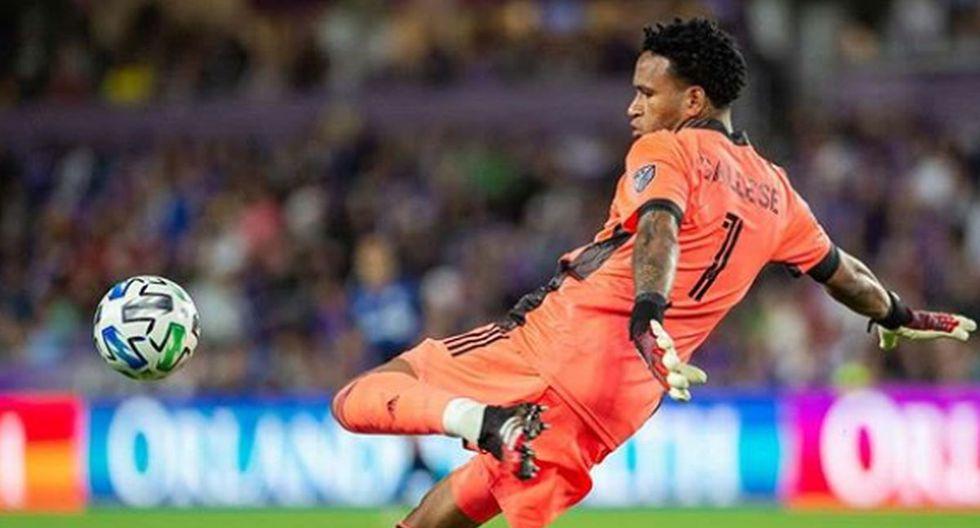 Gallese volvió al extranjero tras una temporada en Alianza Lima. (@pedrogallese1)