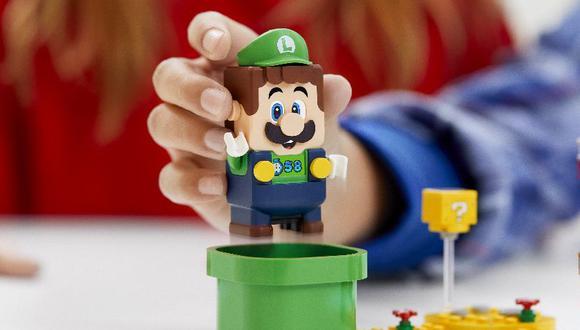 Nintendo anuncia la llegada de Luigi al set de Mario en LEGO
