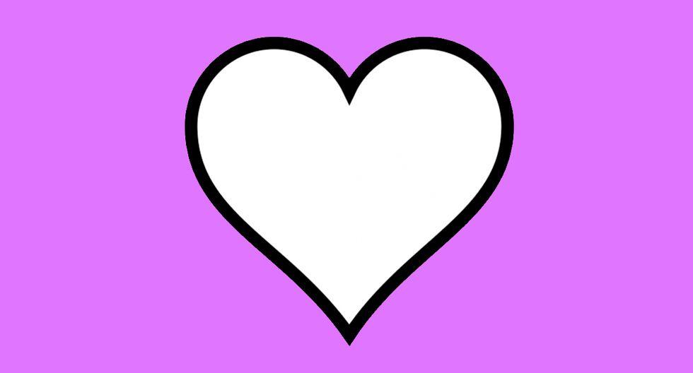 ¿Sabes cuándo usar el corazón blanco de WhatsApp? Conoce su significado. (Foto: Emojipedia)