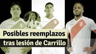 Selección Peruana: Las opciones de Gareca para reemplazar a Carrillo