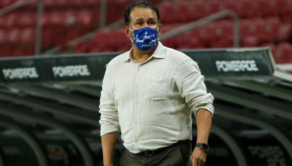 Juan Reynoso se mostró optimista para el último partido del Apertura de la Liga MX. (Foto: Ovación)